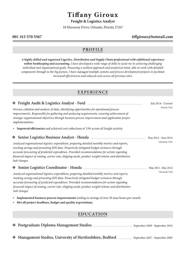 create your job winning resume resume io